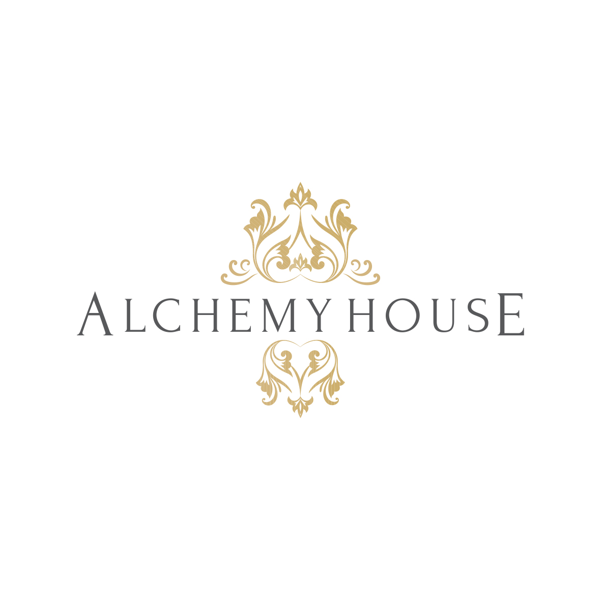 Boutique logo design and elegant gold business branding by graphic designer Lara Hardy from Billie Hardy Creative