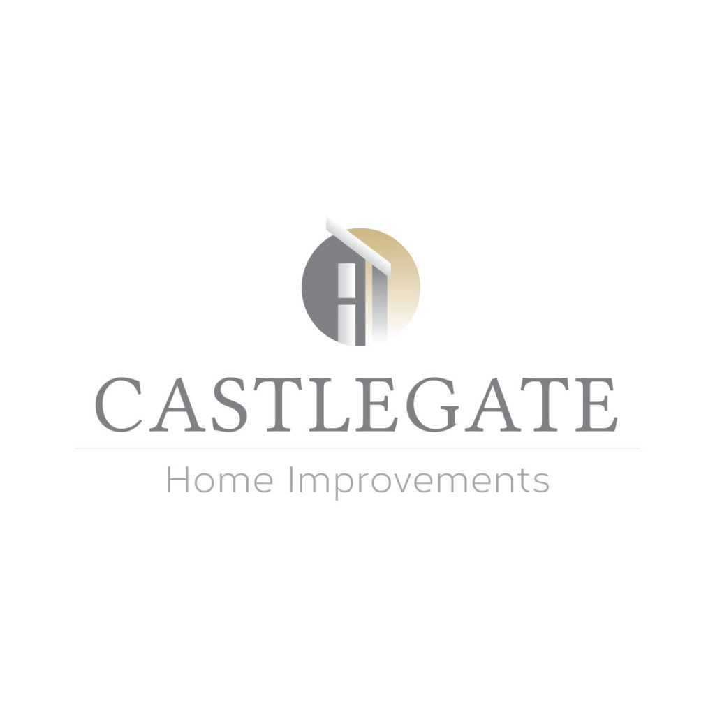 Castlegate Home Improvements Logo Design Billie Hardy Creative