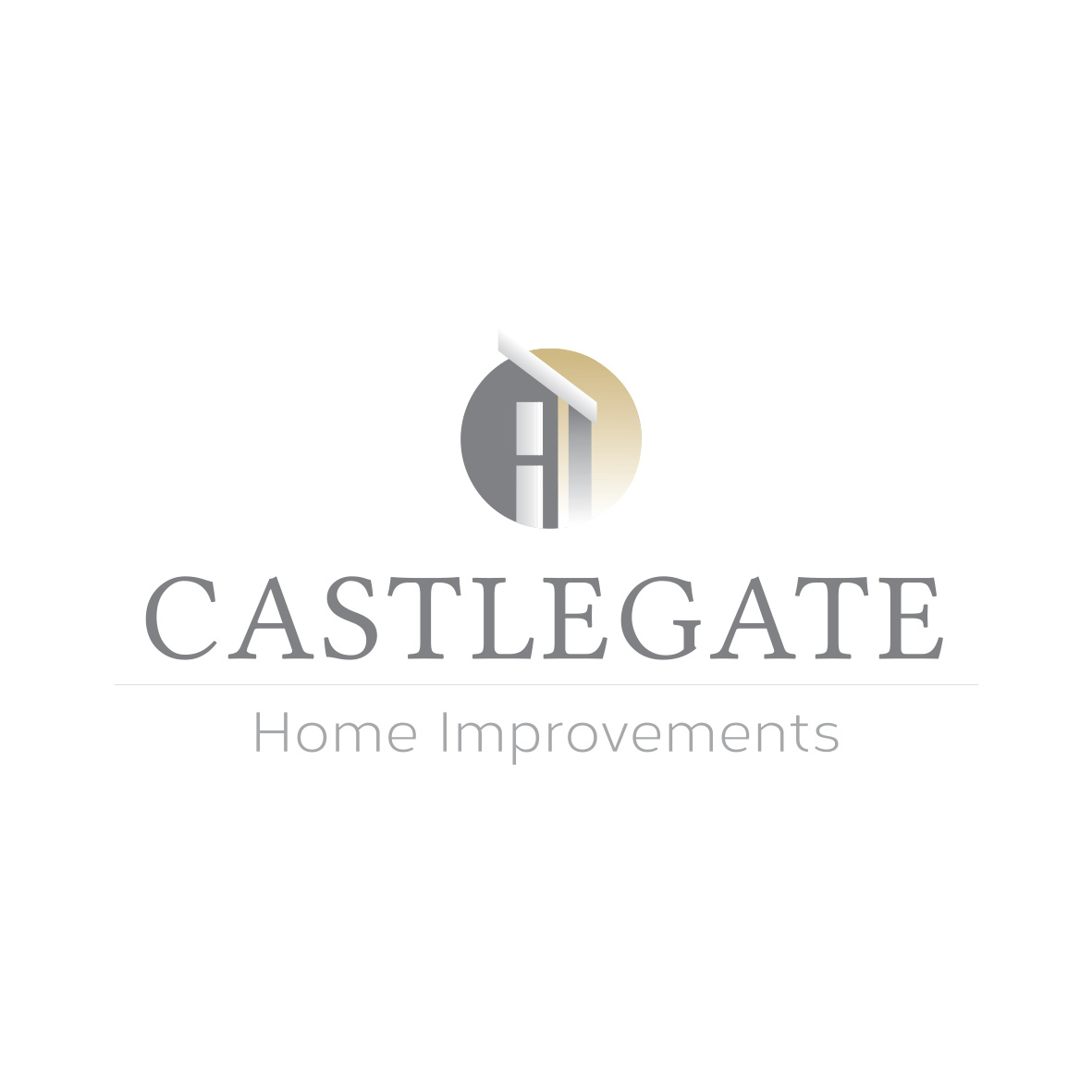 Castlegate Home Improvements   Business Logo Design
