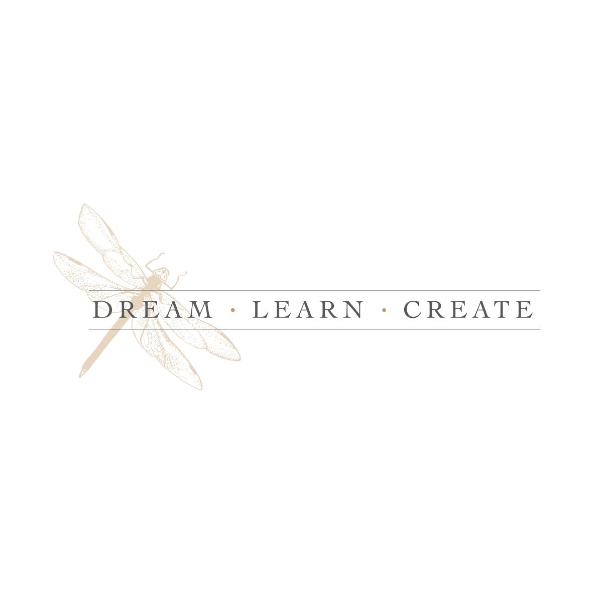 Dream Learn Create Logo Design by Billie Hardy Creative