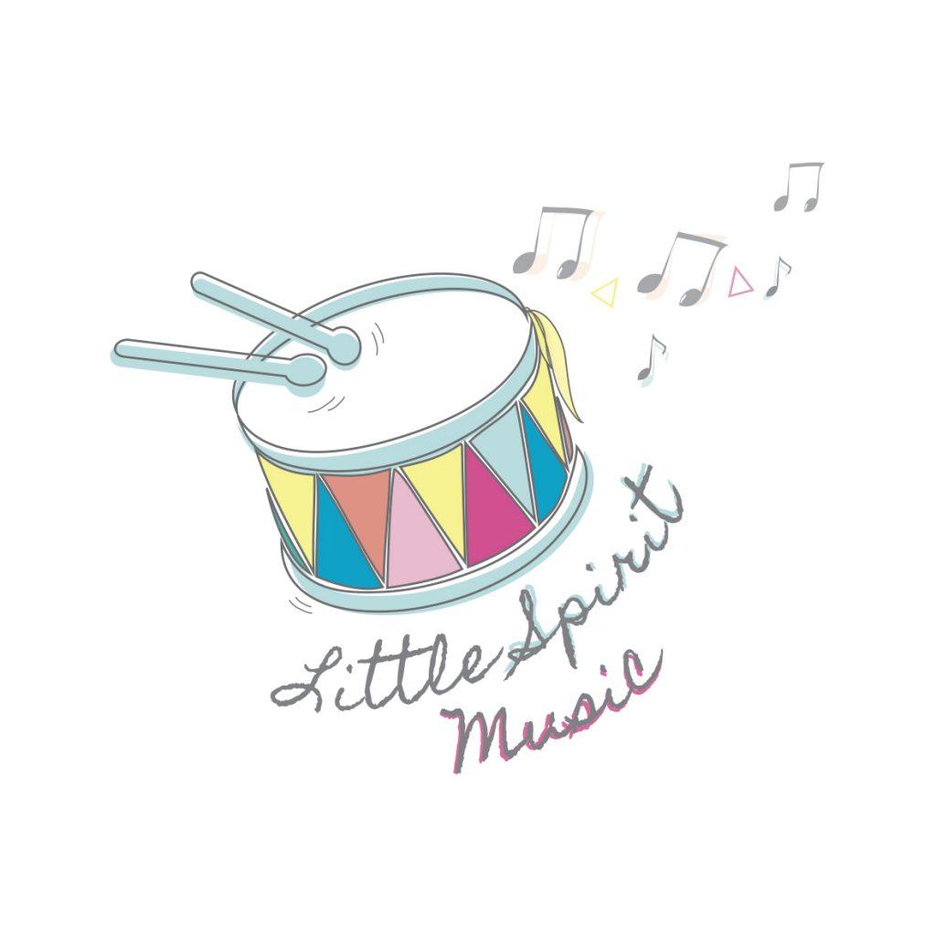 Little Spirit Music Branding Logo Design Billie Hardy Creative