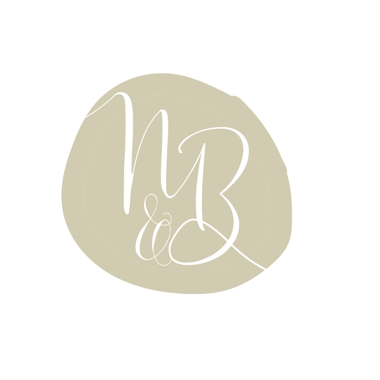 Beautiful logo design and birth services gold business branding by graphic designer Lara Hardy from Billie Hardy Creative