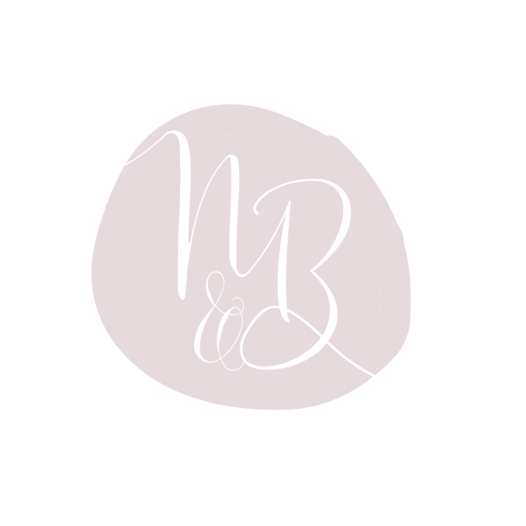 Beautiful logo design and birth services pink business branding by graphic designer Lara Hardy from Billie Hardy Creative