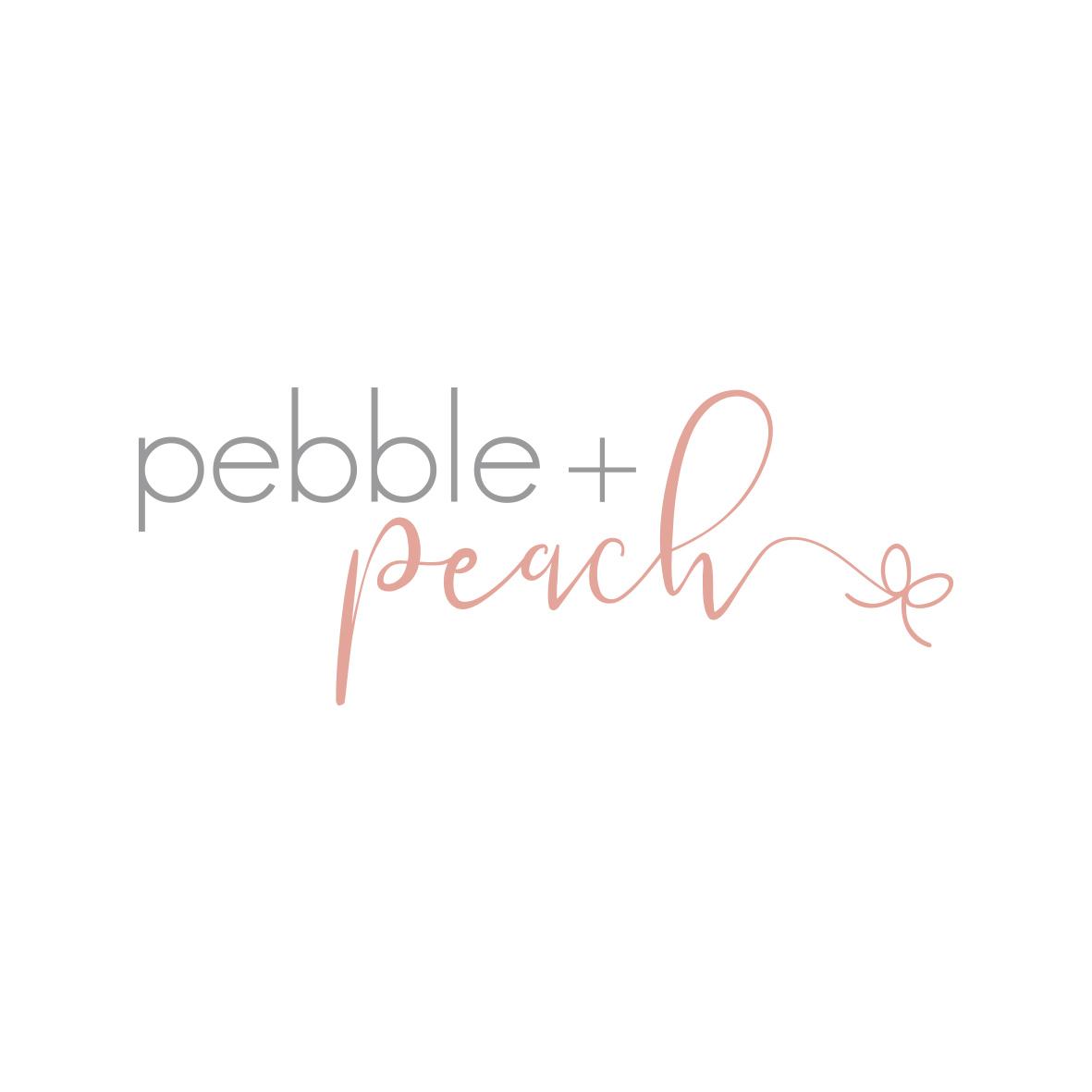 Pebble and Peach Logo Design Tasmania by Billie Hardy Creative