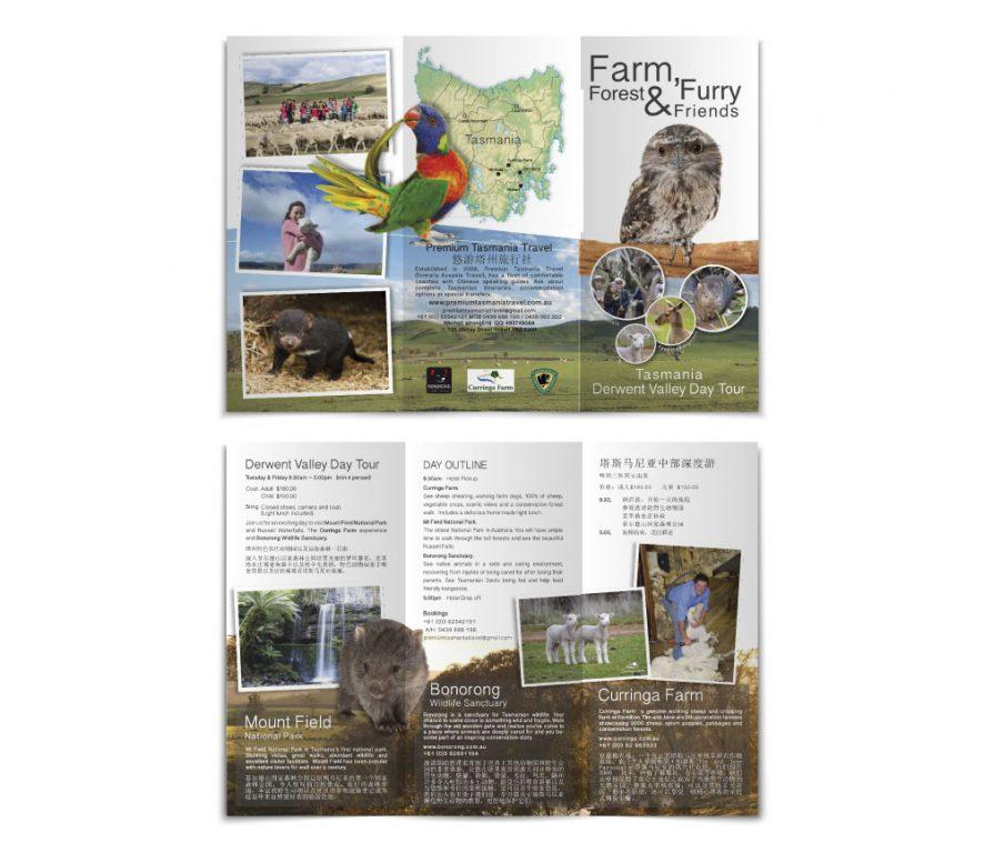 Curringa Farm Brochure Design by Billie Hardy Creative