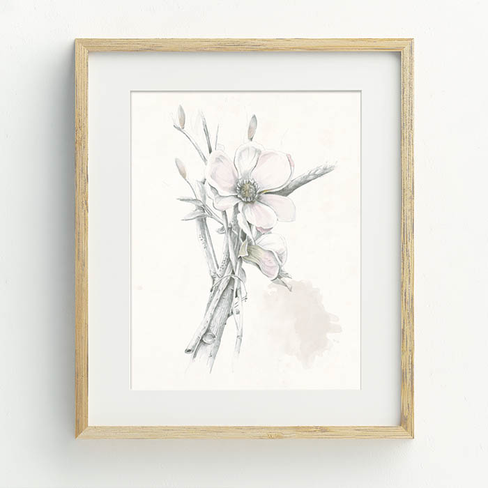 Blossom Hand Drawn Illustration by Billie Hardy Creative