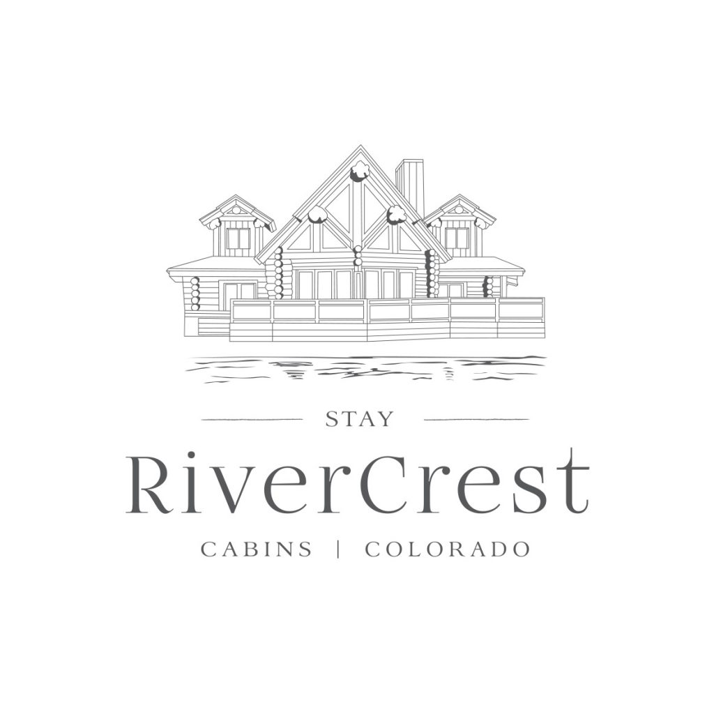 RiverCrest Colorado Logo Design by Billie Hardy Creative