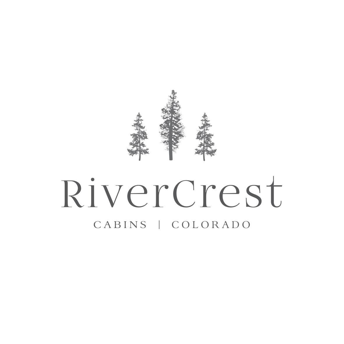 RiverCrest Colorado Logo Design by Billie Hardy Creative
