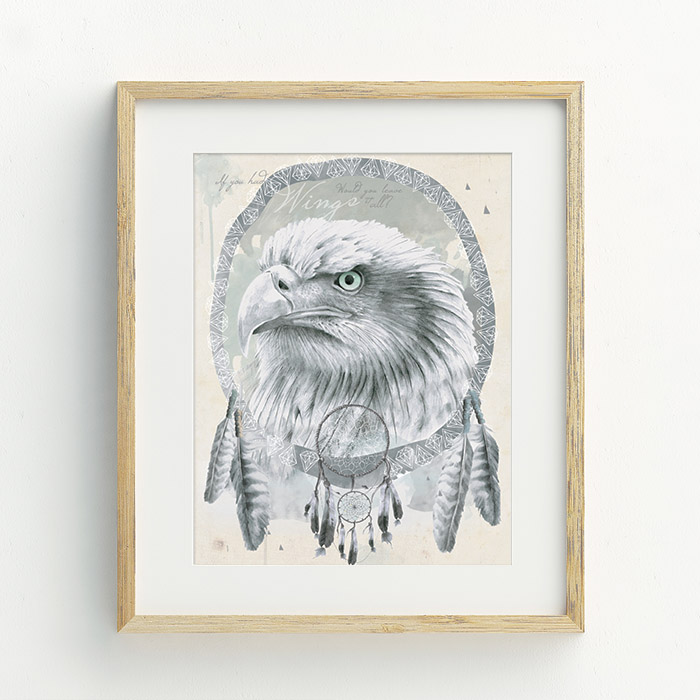 If You Had Wings Hand Drawn Illustration by Billie Hardy Creative