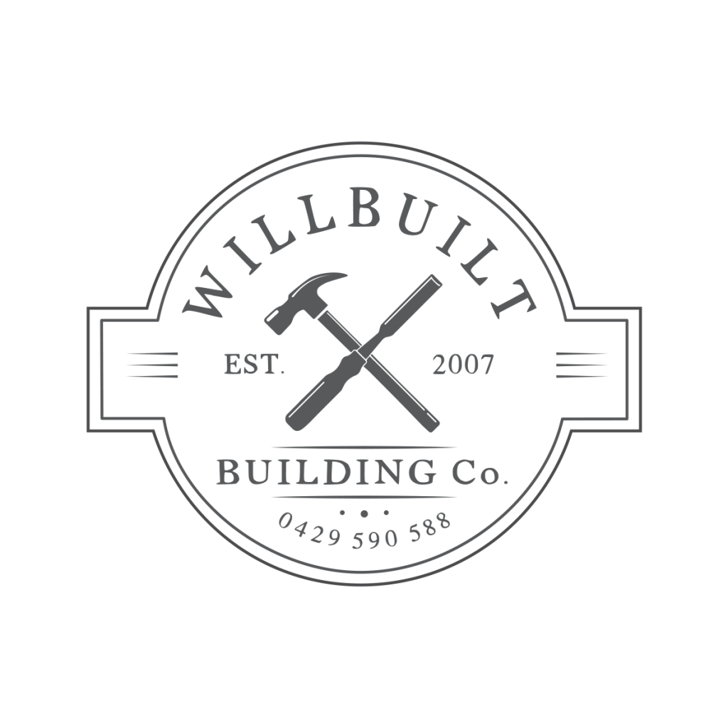 Building Company Logo Design by Graphic Designer Billie Hardy Creative