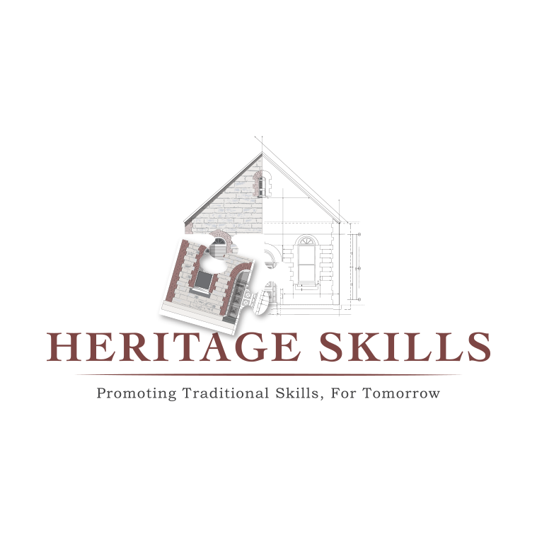 Heritage Building logo design by Tasmanian graphic designer Lara Hardy from Billie Hardy Creative