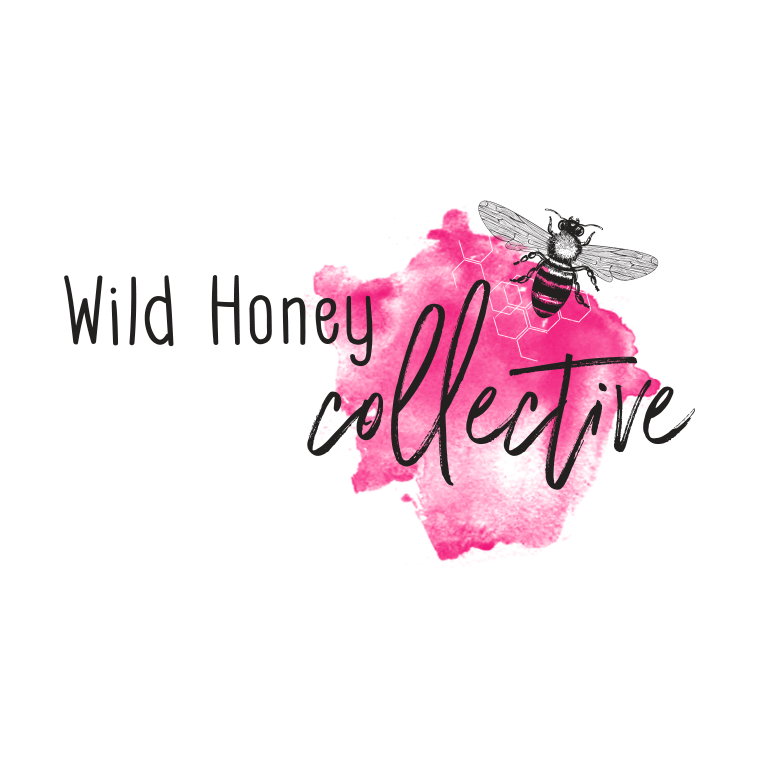 Watercolour Pink logo design by Tasmanian graphic designer Lara Hardy from Billie Hardy Creative