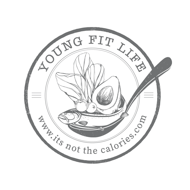 Healthy Living logo design by Tasmanian graphic designer Lara Hardy from Billie Hardy Creative