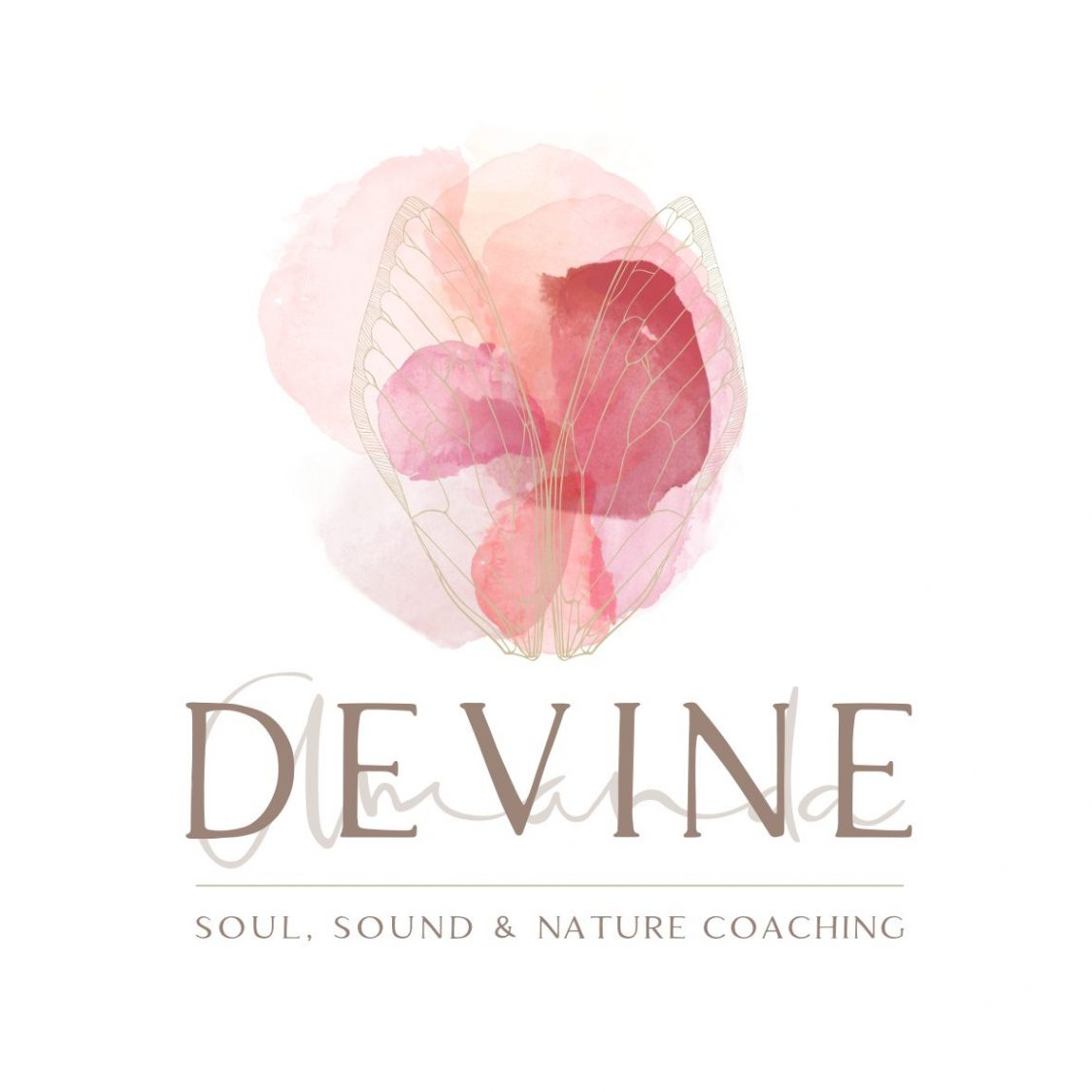 Beautiful Feminine Watercolour logo design by Tasmanian graphic designer Lara Hardy from Billie Hardy Creative