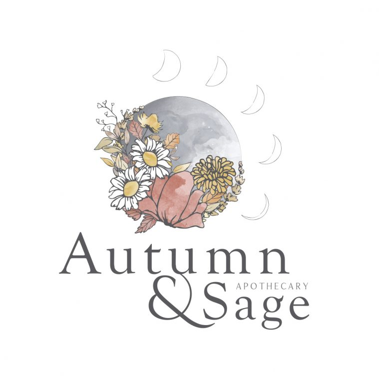 Autumn & Sage Apothecary Organic Logo Design