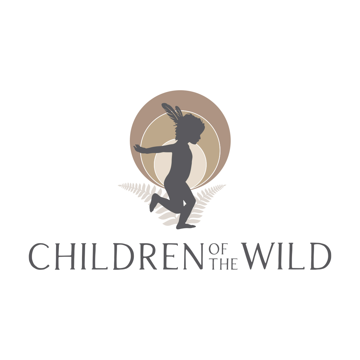 Kids logo design for Children of the Wild by Billie Hardy Creative